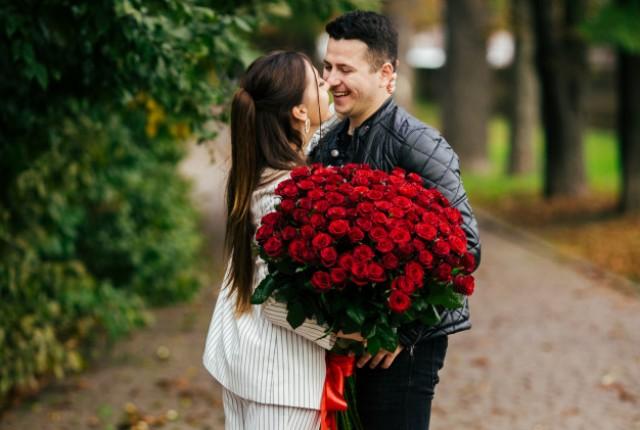 свидание с цветами