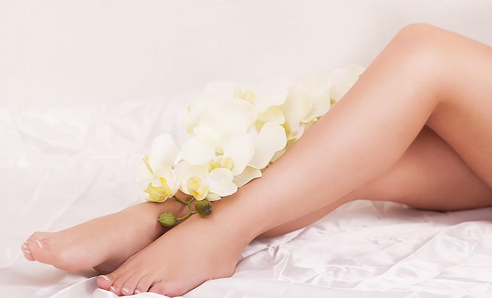 ножки и цветок